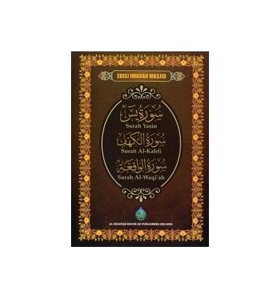 Surah Yasin, Surah Al-Kahfi, Surah Al-Waqiah (Edisi Imarah Masjid)