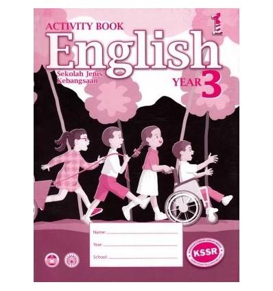 English Year 3 Sekolah Jenis Kebangsaan (Activity Book)