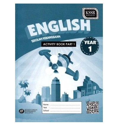 English Year 1 Sekolah Kebangsaan (Part 1 : Activity Book)