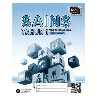 Sains Tahun 1 Sekolah Kebangsaan (Buku Aktiviti)