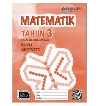 Matematik Tahun 3 Sekolah Kebangsaan (Buku Aktiviti)