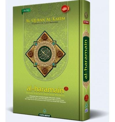 Al-Quran Al-Karim Terjemahan & Tajwid Berwarna Al-Haramain B5 Karya Bestari