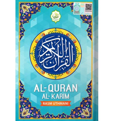 Al-Quran Biru Air RM18 Al-Hidayah